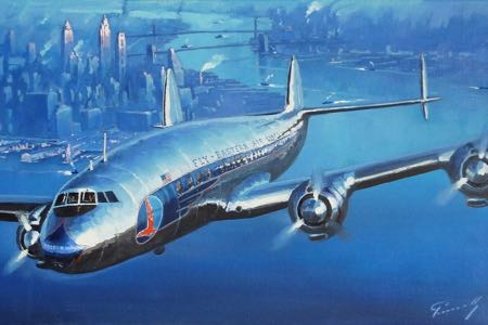 constellation eastern airlines new york perinotto