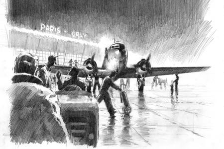 dc3 aeropostale aviation art perinotto artbook2
