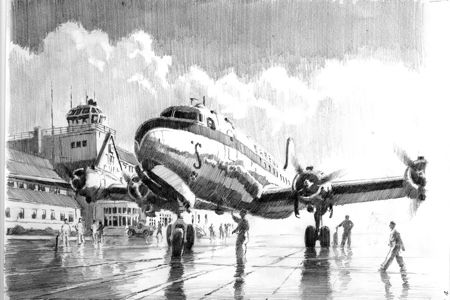 DC4 melsbroek aviation art perinotto artbook 2